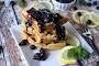 Lemon Poppy Seed Waffles With Blueberry Sauce Recipe