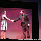 """Jennifer Van Iderstyne and Paul Dederick in """"English Made Simple"""" as part of THE IVES HAVE IT - January/February 2012.  Property of The Schenectady Civic Players Theater Archive."""