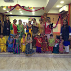 Pre - primary section celebrated Janmashtami at Witty World (2015-16)