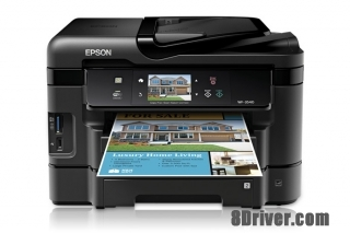 download Epson WorkForce WF-3540DTWF printer's driver