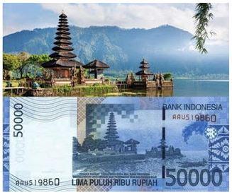 5 lokasi wisata yang gambarnya ada di mata uang rupiah