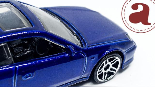 Electric Blue 98 Honda Prelude