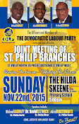 """Joint Meeting of St. Philip Branches, """" Staying The Course- Defining The Future"""" Hilda Skeene Primary School, Ruby,St. Philip"""