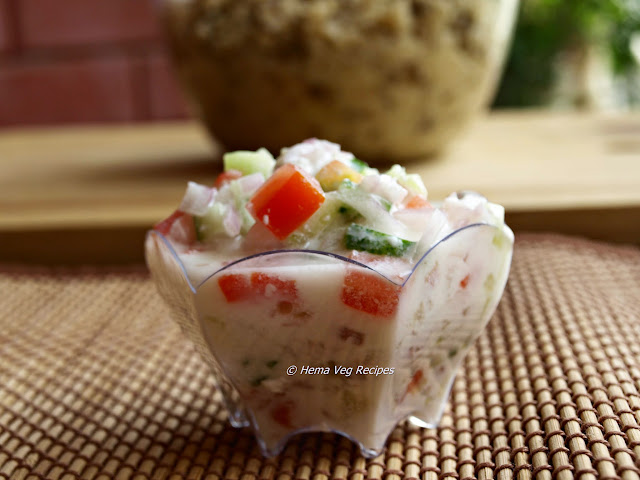 Raita for Rajasthani Kichidi