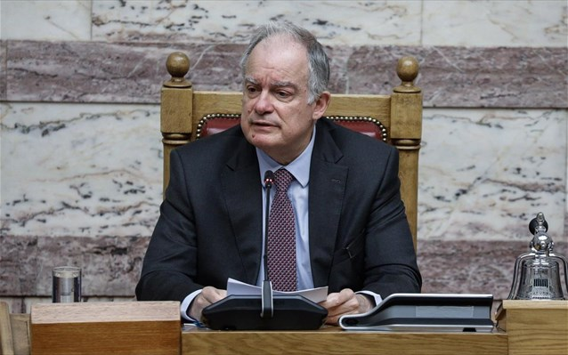 K. Tασούλας: Καμία ανησυχία για τη στατικότητα του κτηρίου της Βουλής