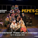 PEPE'S CAFE  Docenten Picasso Lyceum 2015