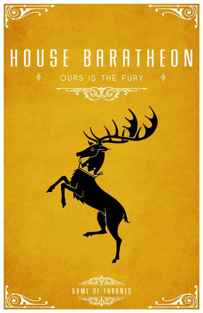 Brasão da Casa Baratheon