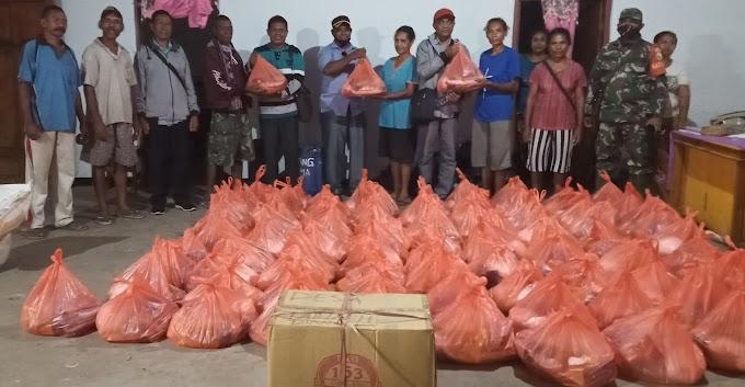 Tinjau Lokasi Bencana Alam di Pantar, DPRD Alor Serahkan Bantuan Presiden