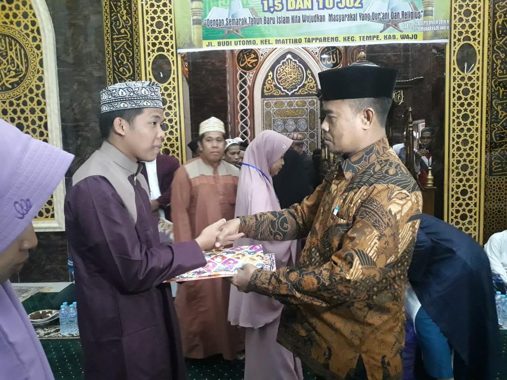 Sekda Kabupaten Wajo Menutup Perlombaan Musabaqah Hifdzil Quran