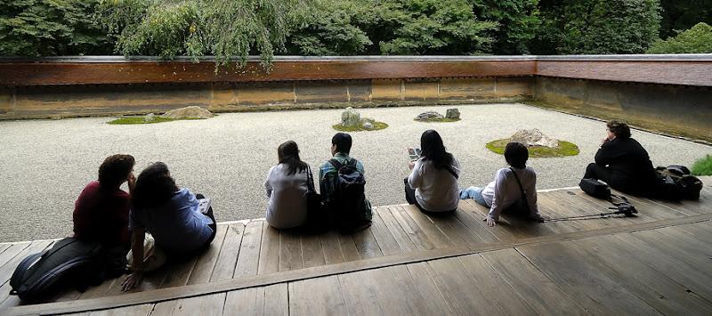 Zen Garden (Ryoan-ji). Kyoto
