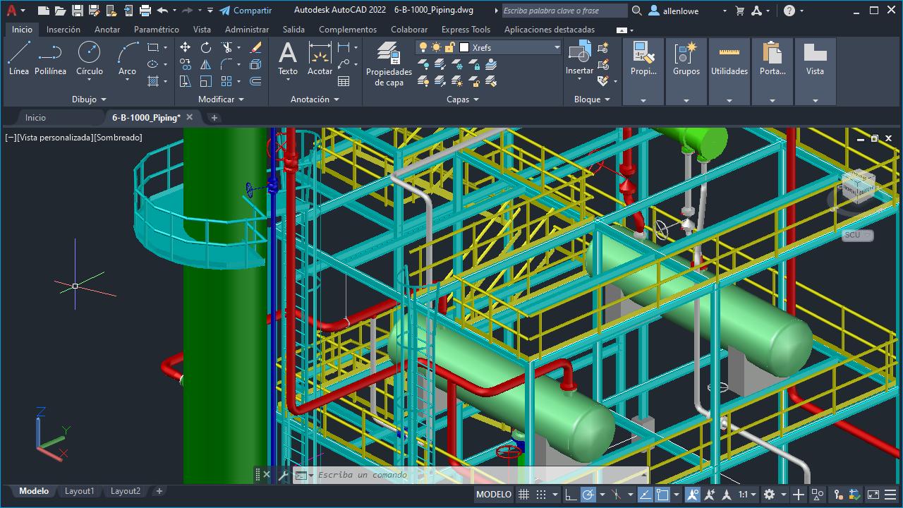Versión preliminar técnica de gráficos 3D