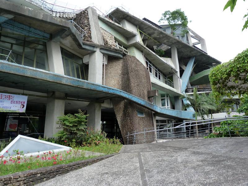 Réalisation d'un célèbre architecte Taïwanais. Bâtiment administratif