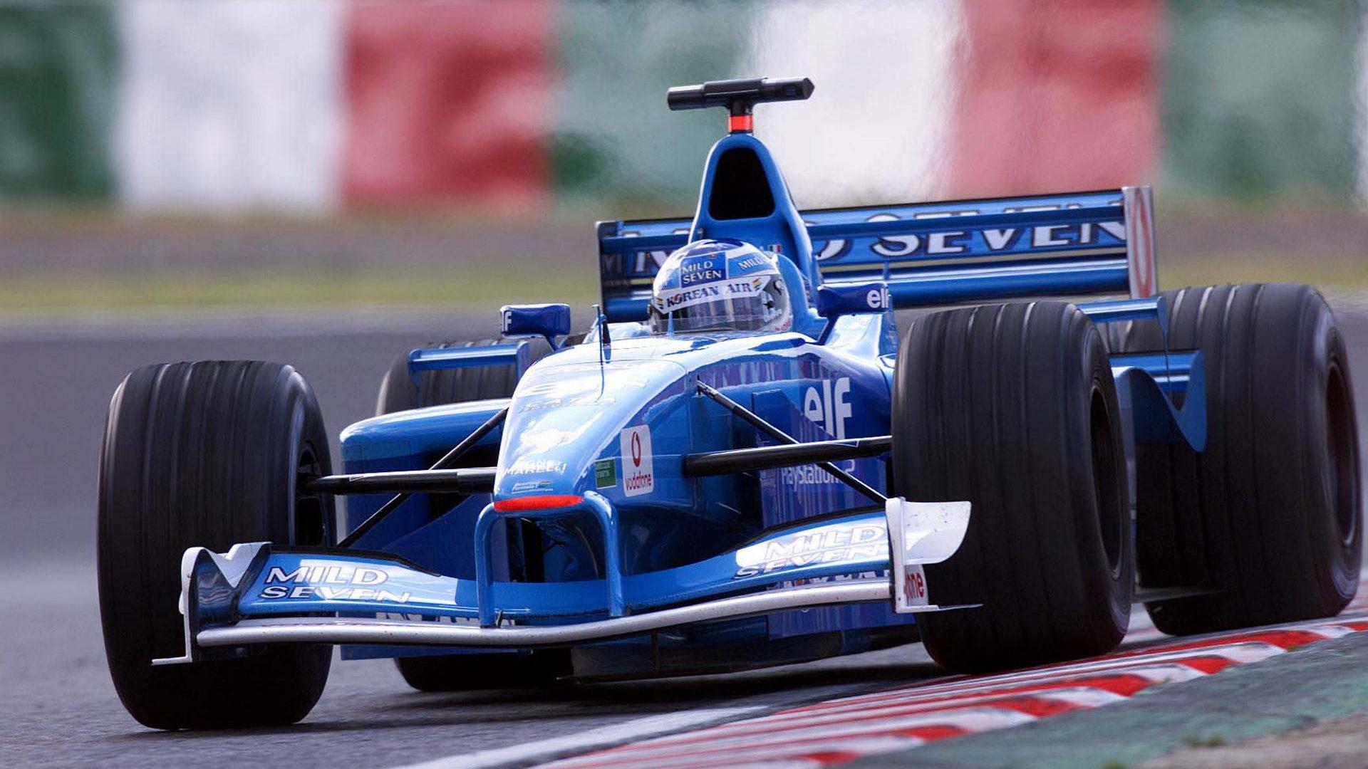Benetton F1 2001 - foto by F1-Fansite.com