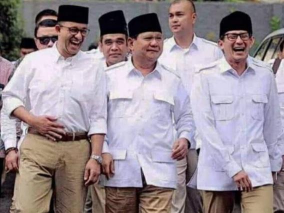 Prabowo Nyapres? Aktivis Ini Ungkap Akal-akalan Sekjen Gerindra Menutupi Misi Politik Usung Anies-Sandi
