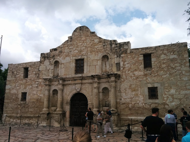 The Alamo - one of San Antonio's iconic landmarks