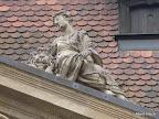 Bamberg, Kapitelhaus, Giebelfiguren, Restaurierung und Konservierung, Allegorie Macht 1990/91