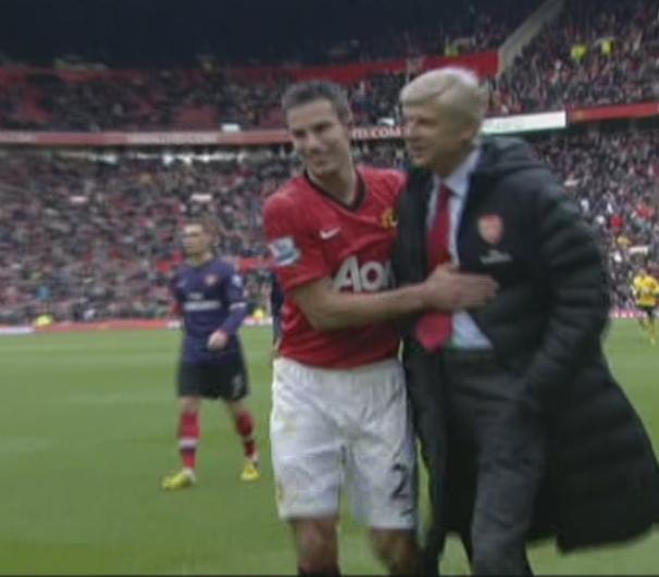 Robin Van Persie, Manchester Utd - Arsenal
