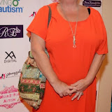 WWW.ENTSIMAGES.COM -  Nicola Duffet  arriving   at         Wear it for Autism - charity catwalk show at Millennium Hotel London Knightsbridge, London October 6th 2014Charity fashion show to celebrate families and individuals affected by autism.                                               Photo Mobis Photos/OIC 0203 174 1069