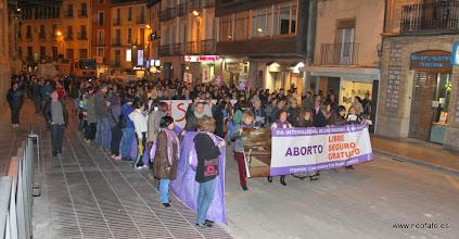 Photo: Huesca: 8M 2014 En el Coso