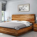 Wooden Bed Design icon