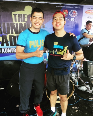 Gwapulis Norman A. Wileman III and Runner Rocky