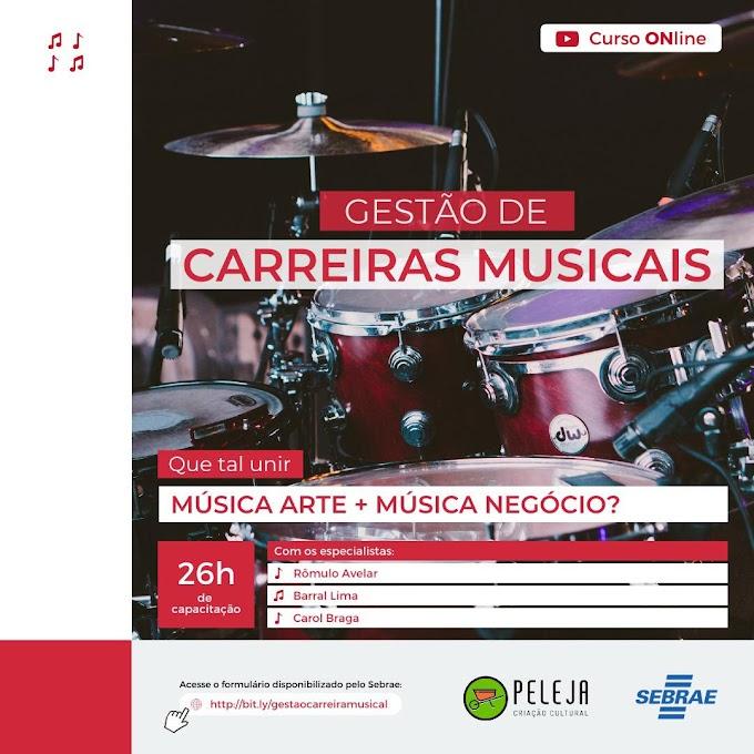Sebrae realizará programa de gestão de carreiras para músicos do Alto Paranaíba
