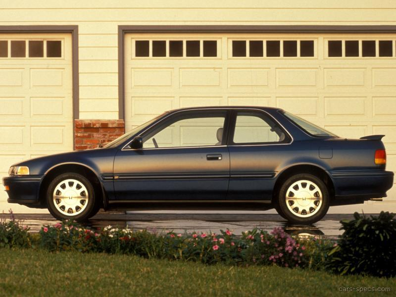 1991 Honda Accord Coupe Specifications Pictures Prices
