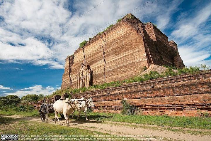 Mingun Pagoda, o templo inacabado