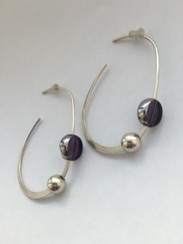 55b5042a484d Shily Izz Silver Design   Bijoux  Colección Espirales! Aretes plata ...