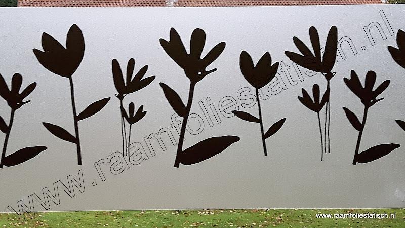 raamdecoratiefolie bloemen