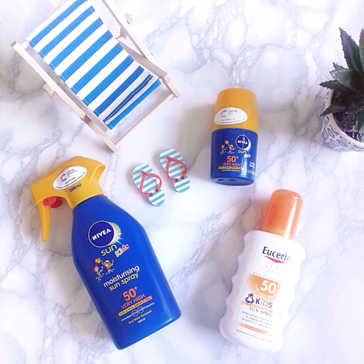 KIds Sun Care from Nivea & Eucerin