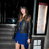 WWW.ENTSIMAGES.COM - Lilah Parsons  at   Floridita cocktail Bar  Launch of the Rum Shack at  100 Wardour St, London February 1st 2013                                                        Photo Mobis Photos/OIC 0203 174 1069
