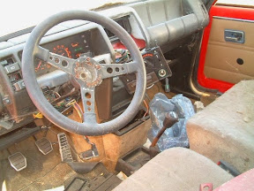 Abandoned Renault 5 Turbo Interior