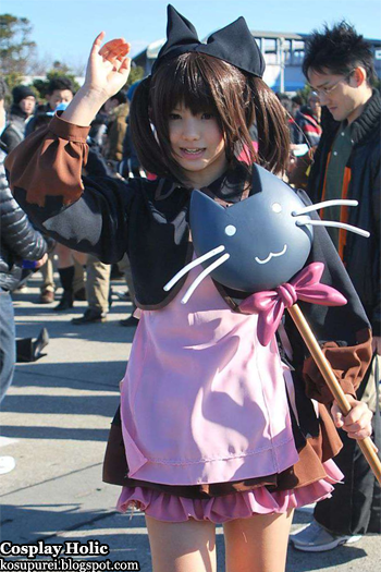 unknown cosplay 115 from comiket 81 / manaka de ikuno!! cosplay - yuzuhara konomi