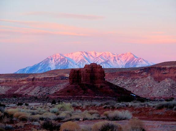 Sunrise on Mt. Hillers