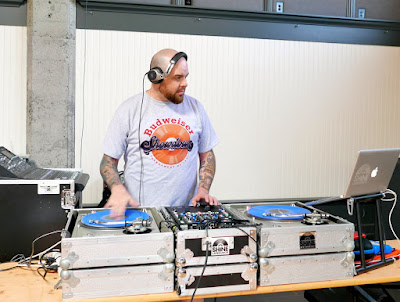 DJ Rev Shines was super cool at playing fun music to keep everyone grooving while snacking at Snackdown 2016
