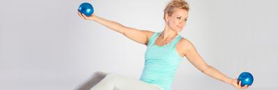 Benefícios da Toning Ball no Pilates