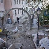 2012.10.11. - Tűztorony felújítása és a Kulcspont épületének építése