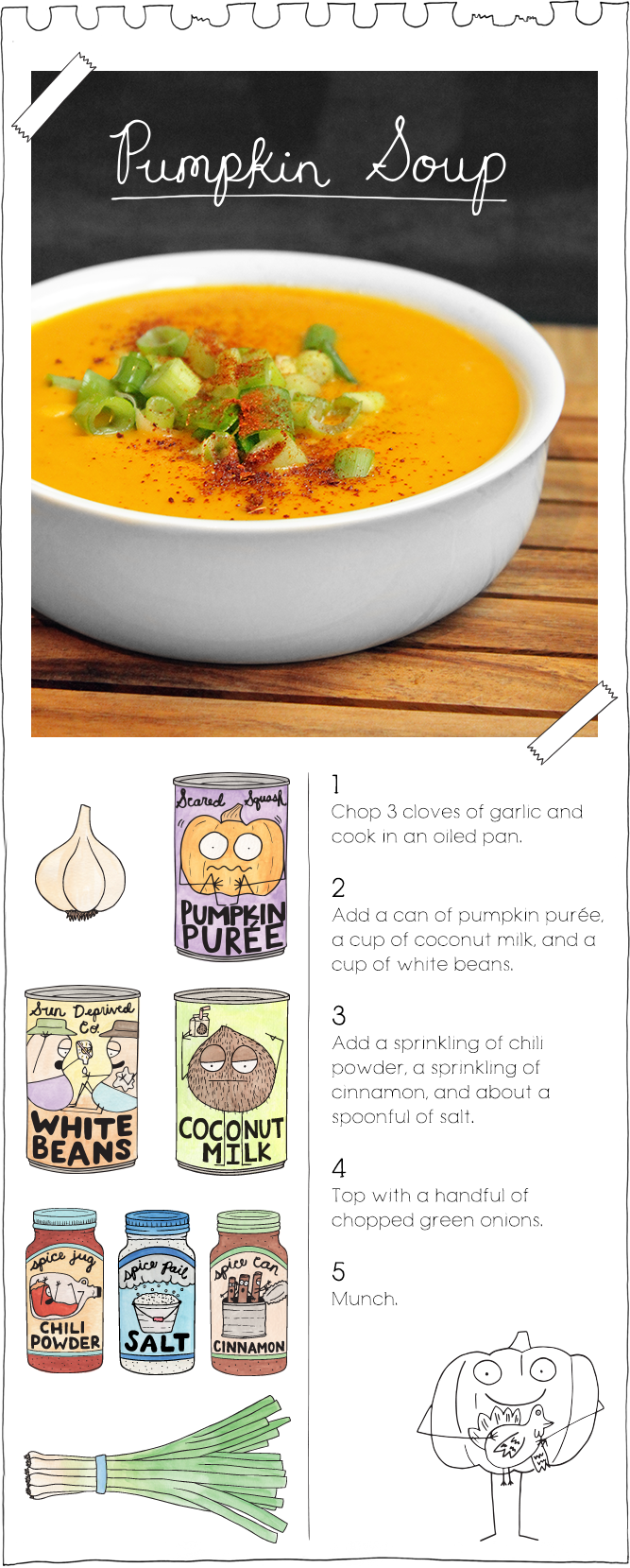 The Vegan Stoner's Pumpkin Soup