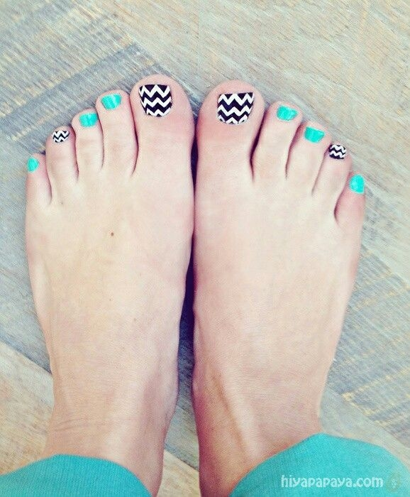 Funky Toe Nail Art 15 Cool Toe Nail Designs For Teenage Girls: Toe Nail Designs You Must Try For Teenage Girls