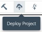 Deploy button on Sigma toolbar