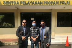 Laporan Tidak Ditanggapi, Rimafa Law Firm & Partners Datangi Propam Mabes Polri
