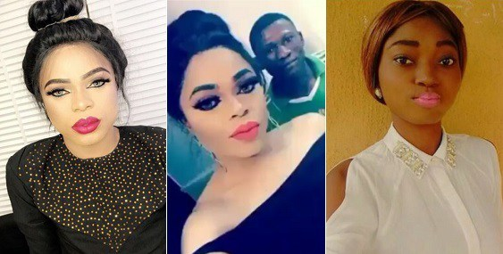 """My Gateman Looks More Healthy Than You"" – Bobrisky Blasts Nigerian Lady On IG (Photos)"