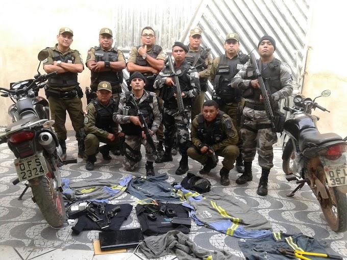 ITAITUBA/PA: CINCO BANDIDOS MORREM EM TROCA DE TIROS COM A POLÍCIA. NO CURSO DE UMA INVESTIGAÇÃO, OS POLICIAIS FORAM RECEBIDOS À BALA E TIVERAM QUE REVIDAR.