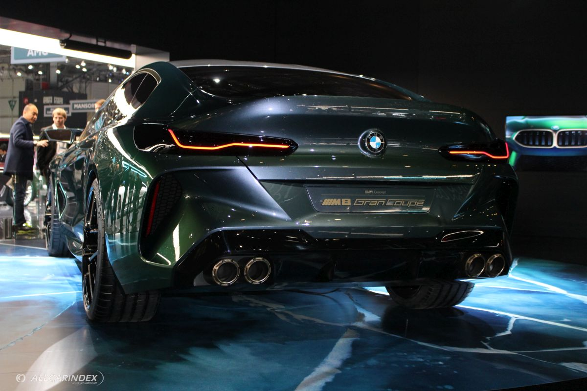 BMW - Concept M8 Gran Coupe