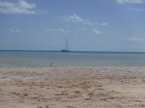 Y2K all'ancora - ancoraggio di Sud-Ovest - Fakarava