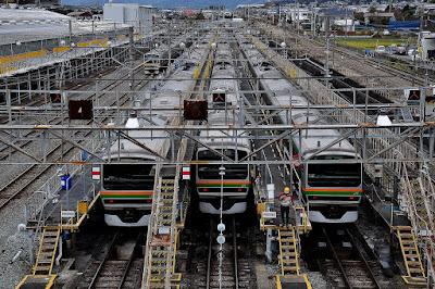 神奈川県の車両基地 - 車両基地