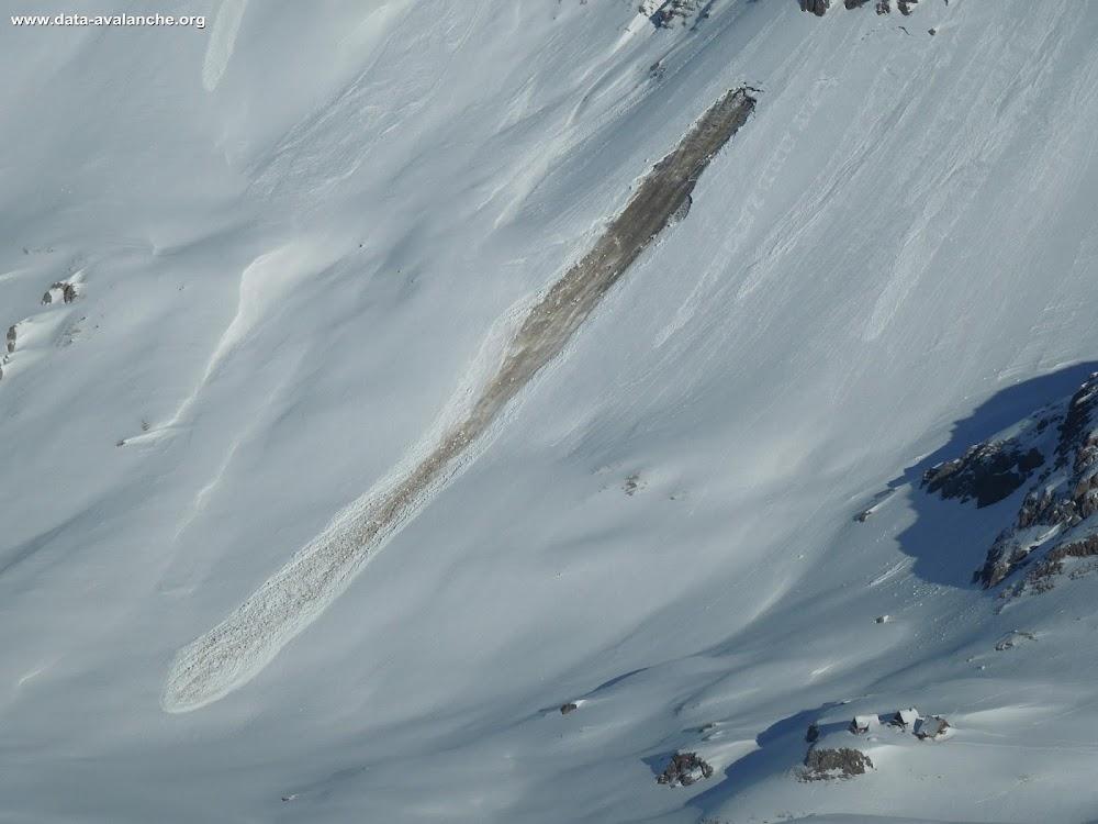 Avalanche Vanoise, secteur Grande Motte, Refuge de la Leisse ; Plan des Chamois - Photo 1
