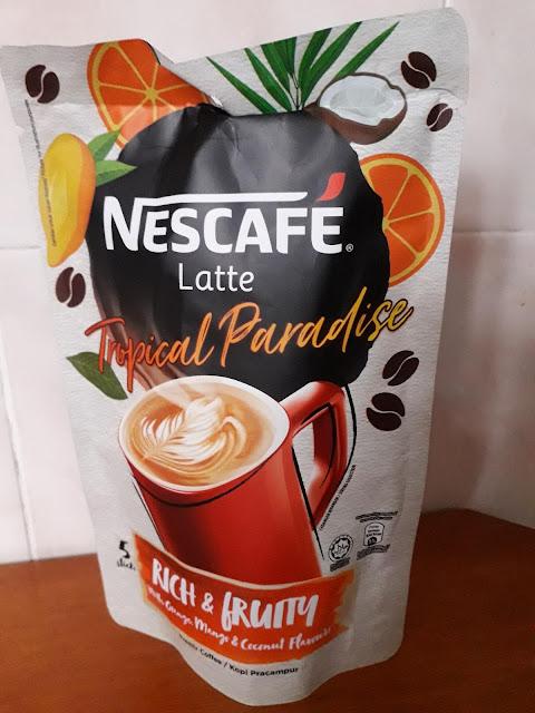 Nescafe Latte: Tropical Paradise