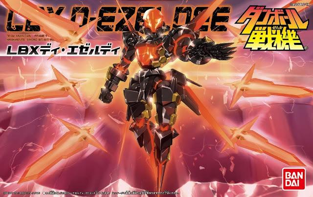 Đồ chơi lắp ghép Đấu sĩ LBX-053 D Ezeldee